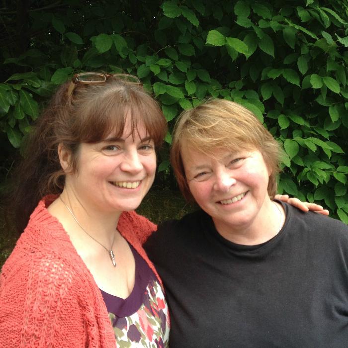 Mary Ann Kennedy and Frieda