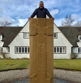 David and the Forteviot Cross3