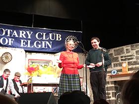 Margaret Bennett and Scott Gardiner