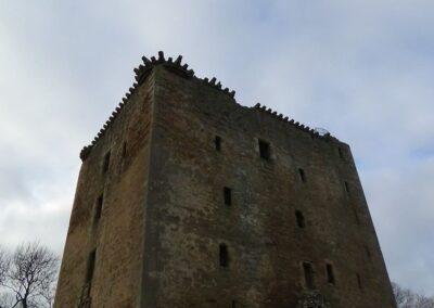 Spynie Palace, Laigh o Moray