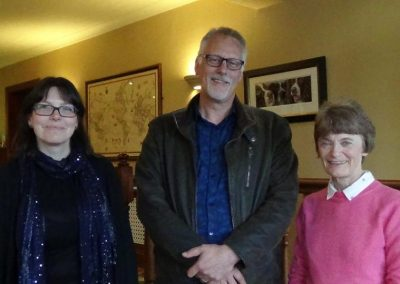 Catriona Yuile, Pete Stollery and Margaret Hearne