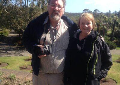 Dave and Frieda at Galloway