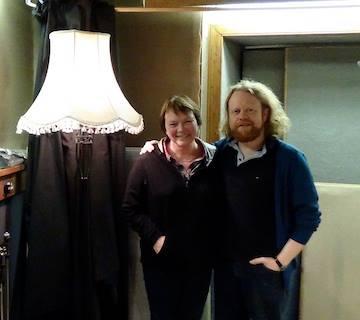 Frieda Morrison and Steve Byrne