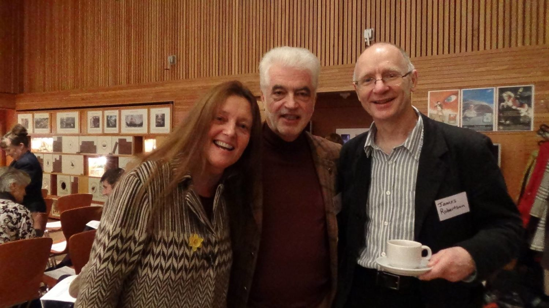 Gerda Stevenson, Billy Kay and James Robertson