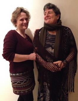 Grace Banks and Sheena Blackhall