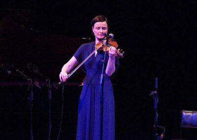 Shetland fiddler, Jenna Reid