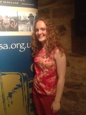 Singer an Scots Language Ambassador, Robyn Stapleton