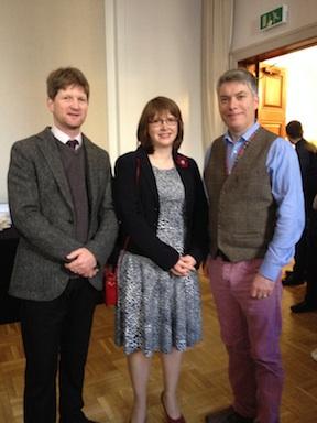 Simon Hall, Diane Anderson and Brian O'hEadhra, Creative Scotland