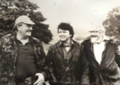 Cousin George McLeod, Frieda and Archie Davidson