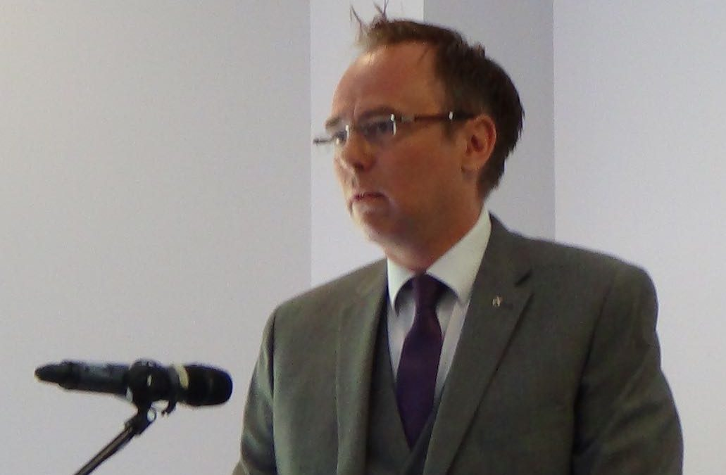Alasdair Allan, launches Government's Policy For Scots Language.