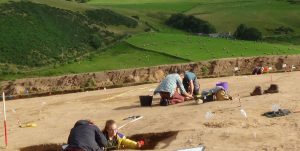 Pictish Dig - Rhynie, Aberdeenshire - Diggers..Episode 22