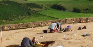 Pictish Dig - Rhynie - Diggers