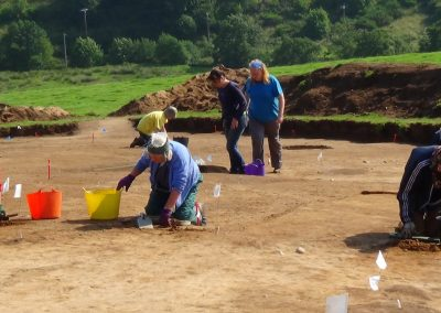 Pictish Dig - Rhynie, Aberdeenshire - Mair Diggers.Episode 22