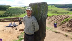 Pictish Dig Rhynie - Aberdeenshire - Team Leader - Gordon Noble