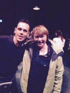 Andy Cannon wi Frieda Morrison