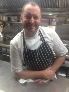 Award winning chef Neil Forbes - Cafe St Honore, Edinburgh.