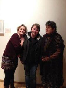 Frieda Morrison wi Grace Banks and Sheena Blackhall