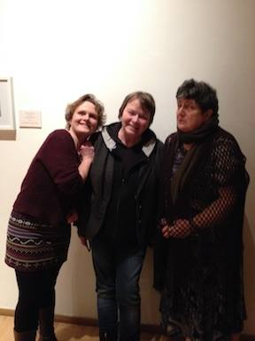 Frieda Morrison wi Grace Banks and Sheena Blackhall