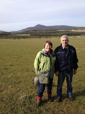 Frieda and Ian -Bennachie