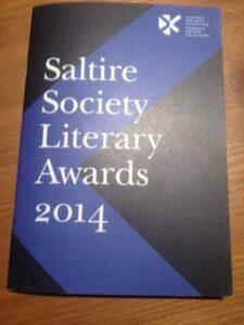 Saltire Society Literary Awards 2014