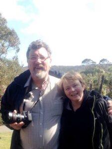 Wi oor gairdner, Dave Mitchell past Curator o the Botanic Gairdens in Edinburgh.