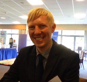 Bruce Eunson - Scots Language co-ordinator for Education Scotland based in Lerwick Shetland
