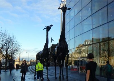 GiraffeandbabyLeith_Walk_Edinburgh