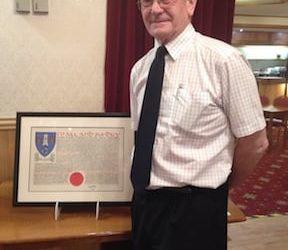 Sandy May Awarded MBE